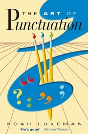 Cover of: The art of punctuation