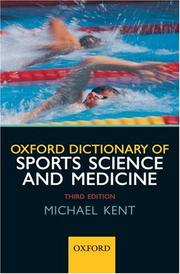 Cover of: Oxford Dictionary of Sports Science and Medicine