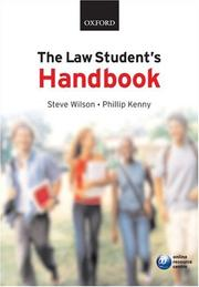 Cover of: The law student's handbook