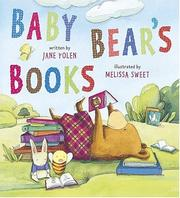 Baby Bears books