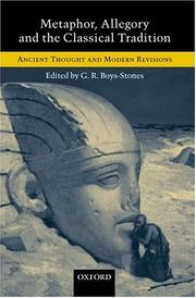 Cover of: Metaphor, allegory, and the classical tradition |