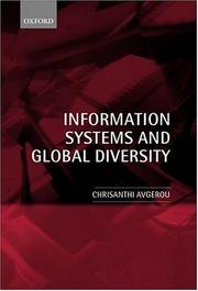 Cover of: Information Systems and Global Diversity