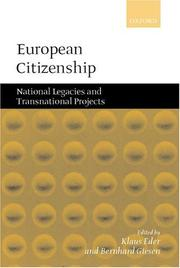 Cover of: European Citizenship |