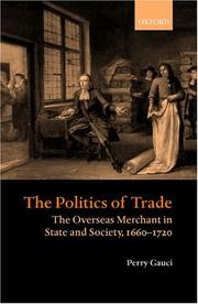 Cover of: The politics of trade
