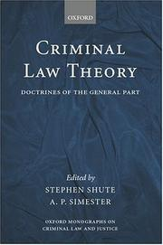 Criminal law theory
