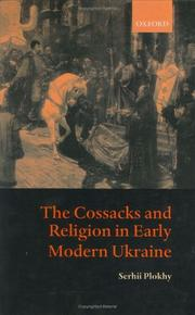 Cover of: The Cossacks and Religion in Early Modern Ukraine