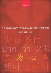 Cover of: The Languages of East and Southeast Asia