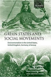 Cover of: Green States and Social Movements | John Dryzek