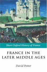 Cover of: France in the later Middle Ages |