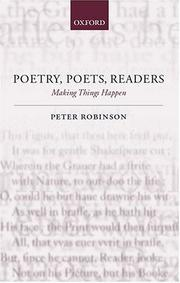 Poetry, poets, readers