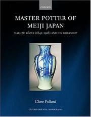 Cover of: Master Potter of Meiji Japan | Clare Pollard