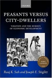 Cover of: Peasants versus city-dwellers
