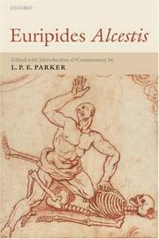 Cover of: Euripides Alcestis