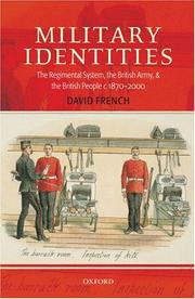 Cover of: Military Identities | David French
