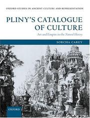 Pliny's Catalogue of Culture by Sorcha Carey