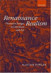 Cover of: Renaissance realism | Fowler, Alastair.