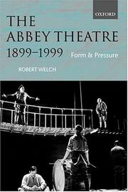 Cover of: The Abbey Theatre, 1899-1999