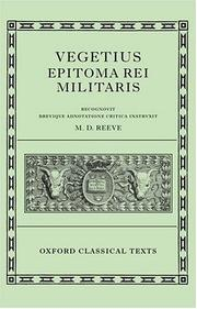 De re militari by Flavius Vegetius Renatus