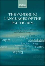 The Vanishing Languages of the Pacific Rim (Oxford Linguistics)