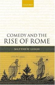 Cover of: Comedy and the rise of Rome