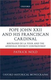 Pope John XXII and his Franciscan cardinal by Patrick Nold