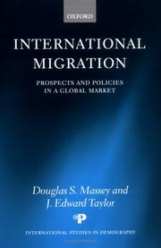 Cover of: International migration |