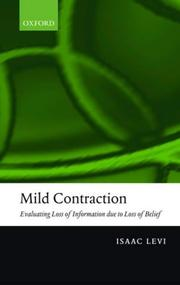 Cover of: Mild contraction