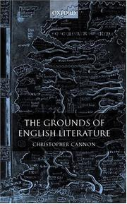 The grounds of English literature