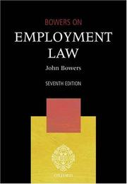 Cover of: A practical approach to employment law
