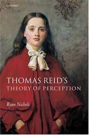 Cover of: Thomas Reid