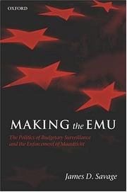 Cover of: Making the EMU