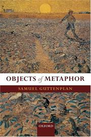 Cover of: Objects of metaphor