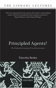 Cover of: Principled Agents?