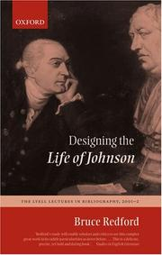 Cover of: Designing the Life of Johnson | Bruce Redford