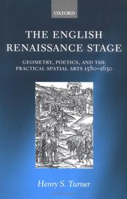 Cover of: The English Renaissance stage | Henry S. Turner