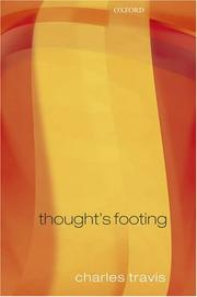 Cover of: Thought's Footing