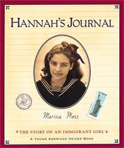 Cover of: Hannah's Journal: The Story of an Immigrant Girl