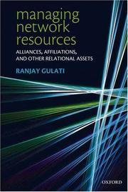 Cover of: Managing Network Resources | Ranjay Gulati