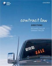 Cover of: Contract law