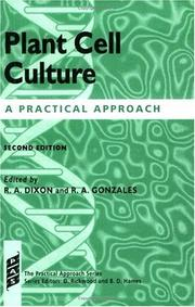 Cover of: Plant cell culture |