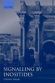 Cover of: Signalling by Inositides | Stephen Shears