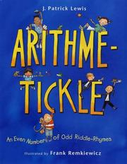 Cover of: Arithme-Tickle: An Even Number of Odd Riddle-Rhymes