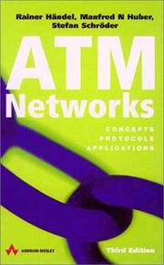 Cover of: ATM Networks, Third Edition | Rainer Handel