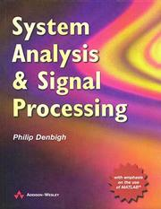 Cover of: System analysis and signal processing