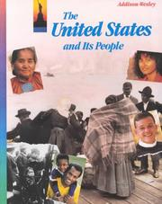 Cover of: The United States and its people | King, David C.