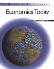 Cover of: Economics Today (1999-2000 (The Addison-Wesley series in economics)