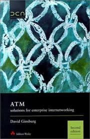 Cover of: ATM Solutions for Enterprise Internetworking