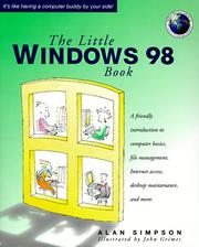 Cover of: The little Windows 98 book
