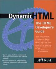 Cover of: Dynamic HTML