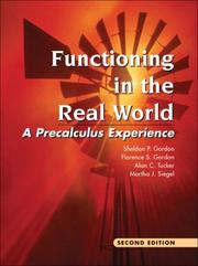 Cover of: Functioning in the real world |